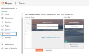 Cara Membuat Blog di Blogger (Gratis, Praktis, dan Menghasilkan) step 8