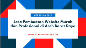 Jasa Pembuatan Website Murah dan Profesional di Aceh Barat Daya